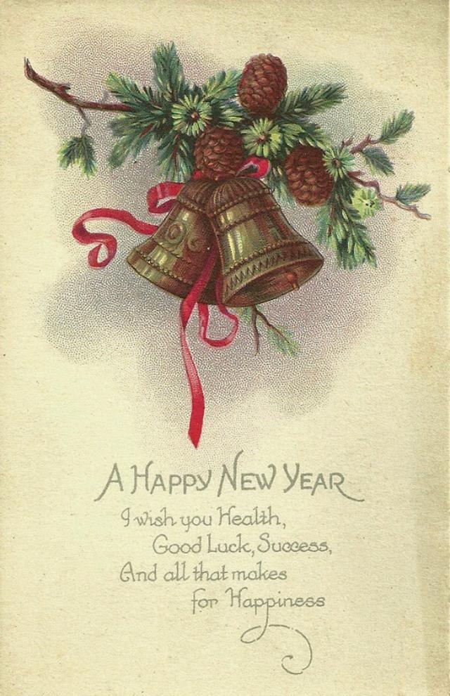 С новым годом открытки на английском языке, смешного пса